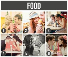 LOTS of tips and ideas for couples photography- like using food as props. Love these!
