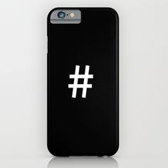 #hashtag iPhone & iPod Case