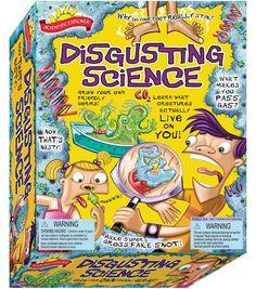 Scientific Explorers Disgusting Science Kit