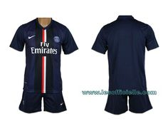 Nike Maillot de football Division II Navy Bleu Junior