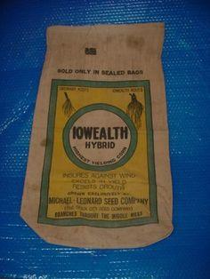 Iowealth Hybrid Michael Leonard Co. Sioux City Seed Co.