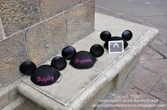 Pregnancy announcement at Disney! Lauryn soooo needs to eventually do this :D