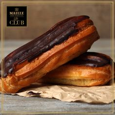 """Eclair is the French word for """"lightning"""" because it can be eaten quickly but making them involves a much bigger time commitment. Have you tried making eclairs from scratch? If you have, you can check that off your Ultimate list! Le Club, French Words, Eclairs, Have You Tried, Hot Dog Buns, Lightning, How To Memorize Things, Meals, Check"""