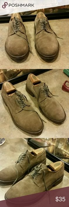 Dress / Casual Shoes           Taupe Brown Suede Still like new     Excellent condition. Wallin & Bros Shoes Oxfords & Derbys