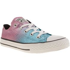 Converse ombre converse low top high top converse all star sneakers... ($95) ❤ liked on Polyvore featuring shoes, sneakers, low profile sneakers, high top trainers, blue high tops, hi tops and blue shoes