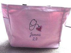 Nurse Tote Bag Graduation Gift  RN LPN BSN by Embroideryworld, $17.99
