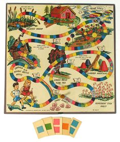 The first version of Candyland that was around from it's beginning in 1949-1954 I played the 60's version