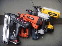 Cordless Nail Gun Tool Review - Nail Gun Reviews - Popular Mechanics