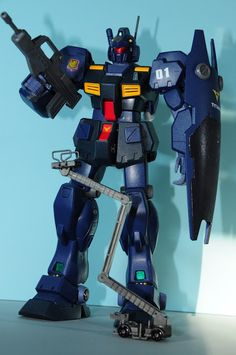 Gunpla on the Freezer: MG RGM Quel - Titans use (Hand painted and top coated)