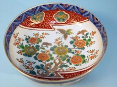 JAPANESE IMARI PORCELAIN BOWL : Lot 192