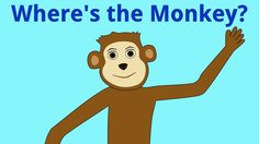 Where's the Monkey? preposition video- cute! Repinned by SOS Inc. Resources http://pinterest.com/sostherapy.
