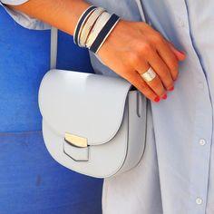 The beautiful blogger @thebabooshka is wearing lepetitcartel handmade CLOTHILDE ring in geniune silver925 !