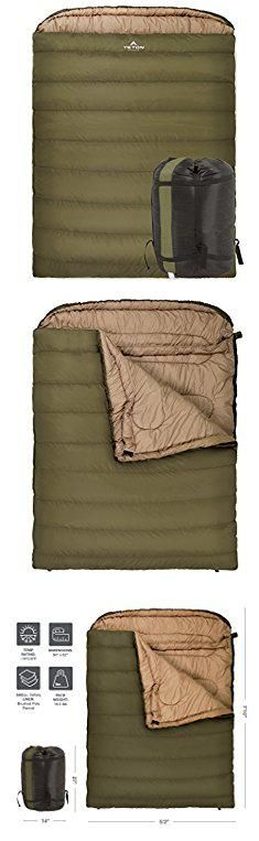 Sleeping Bag Stuffing. TETON Sports Mammoth 0F Double-Wide Sleeping Bag; Double Sleeping Bag Perfect for Base Camp while Cold Weather Camping, Backpacking, and Hiking; Green.  #sleeping #bag #stuffing #sleepingbag #bagstuffing