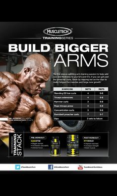 Team Muscletech Arms day#5