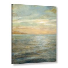 ArtWall Danhui Nai's Serene Sea 2, Gallery Wrapped Canvas | Overstock.com Shopping - The Best Deals on Canvas