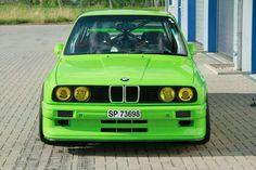 BMW-M3 e30 green