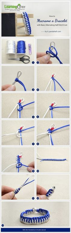 DIY手链...来自enrhedando的图片分享-堆糖网