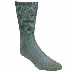 Wigwam Socks F8032-308 Green Hot Weather Boot Crew Socks Wigwam