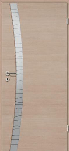 Porte intérieure contemporaine Westaline type 2505 ral 7004 - Peindre Des Portes En Bois