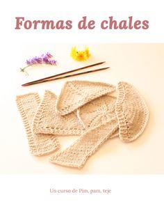 Crochet Bikini, Lana, Knit Shawl Patterns, Punch Needle Patterns, Knitting, Sewing Patterns, Knitting Needles, Crochet Stitches