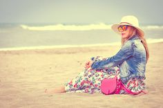 Rebecca Minkoff Bag, Lavand  Dress, Knockout Mirror Sunglasses