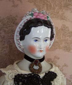 Grape Lady Parian China Doll Mold by ChinaDollMolds on Etsy