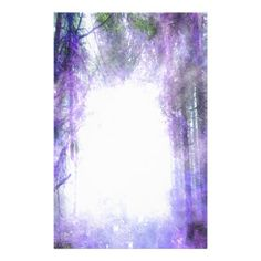 Magical Portal in the Forest Stationery