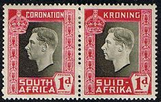 South Africa 1937 George VI Coronation SG 72 Fine Mint SG 72 Scott 75 Other African Stamps HERE