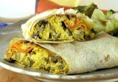 O tempero favorito da culinária indiana deixa o sanduíche de ricota com legumes muito mais saboroso.