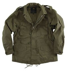 Alpha Industries Replica M-51 Field Coat (Alpha Industries MJM41000C1), Military Field Coats, Field Jackets, M-65, M65, M 65, Army field coat, Marine jacket, camo jacket