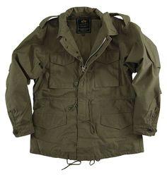Alpha Industries Replica M-51 Field Coat (Alpha Industries MJM41000C1), Military Field Coats, Field Jackets, M-65, M65, M 65, Army field coat, Marine jacket, camo jacket