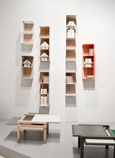 agata dimmich for oppa - shelving system by sculptures jeux
