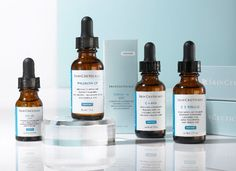 Skinceuticals Metacell Renewal B3 and Skinceuticals CE Ferulic are among the best Skinceuticals products. Metacell Renewal B3 contains 5% niacinamide, an ingredient shown to help in repairing fine lines and wrinkles, sallowness, and blotchiness. Skinceuticals CE Ferulic contains Vitamin C, which has been shown to scavenge free radicals, increase skin firmness, and protect again UV-induced sunburn and erythmea.
