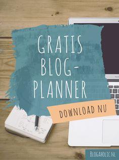 Wil jij productief én gestructureerd aan de slag met jouw blog? Met de blogplanner van Blogaholic word je geholpen in het bijhouden van jouw website. Facebook Marketing, Media Marketing, Planning And Organizing, Blog Planner, Working Area, Blog Tips, Writing A Book, How To Start A Blog, Entrepreneur