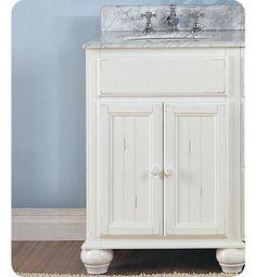 Kraftmaid 24 white summerfield nordic casual bath vanity bathroom pinterest casual Fairmont designs bathroom vanity cottage