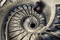 Spiral Staircase to Heaven. by fischerfotografie.nl, via Flickr