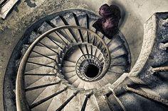 Spiral Staircase to Heaven. by fischerfotografie.nl, via Flickr