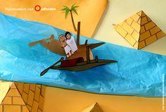 In het dodenrijk konden de doden reizen, maar dan hadden ze wel een vervoersmiddel nodig. Daarom gaven de Egyptenaren hun doden kleine houten bootjes mee in het graf, inclusief bemanning. Klik op de afbeelding om alles te vinden wat je nodig hebt om zelf een Egyptische boot te maken.