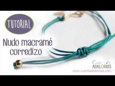 BIENVENIDO A MI TALLER DE BISUTERIA. Esta pulsera combina el alambrismo con el macrame. Primero realizamos el símbolo del infinito con hilo de alambre de alu...