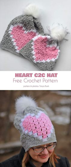 7b5fdb4a0 94 Best Crochet Hat Beanie FREE images in 2019 | All free crochet ...
