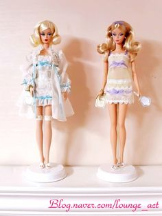 Tout De Suite Barbie (right) with Ingenue Barbie (left) by PrettyPlease | Barbie Collector