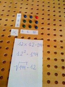I love montessori math!