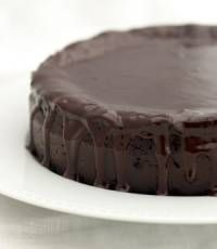 Sugar-Free Chocolate Cake! I use two bananas instead of two eggs, and I top it with PB2 frosting!