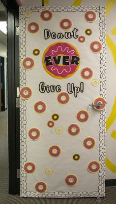 Your students will love our donut cut-outs! They can also be used for inspiratio… Your students will love our donut cut-outs! They can also be used for inspirational messages on your classroom door