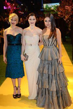 Stunning / Yellow Brick Ladies | Michelle Williams, Rachel Weisz, Mila Kunis