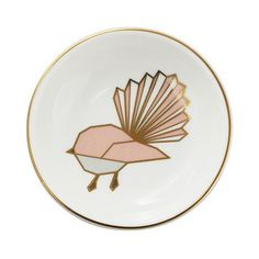 Classic fantail dish with modern edgy geometric styling.Ceramic Dish measurements: in diameter and approx.Ceramic Dish material: new bone china. Bone China, Plates, Dishes, Tableware, Gifts, Design, Home Decor, Licence Plates, Dinnerware