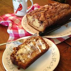 Sand Flat Farm: Afternoon Amish Cinnamon Bread and Coffee