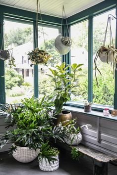 24 Plant Stand Design Ideas for Indoor Houseplants ~ Best Dream Home Room With Plants, House Plants Decor, Plant Rooms, Window Plants, Balcony Hanging Plants, Decoration Plante, Bathroom Plants, Plant Shelves, Outdoor Planters