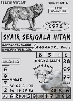 Gambar Syair Togel Singapore Terbaik Semoga Beruntung