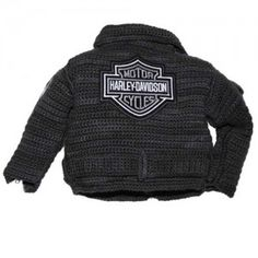 crochet motorcycle jacket pattern... $8 for the pattern.. way too complex for me at the moment